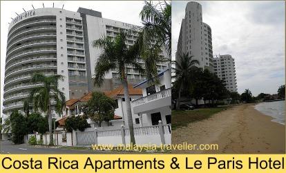 Le Paris Hotel and Costa Rica Apartments