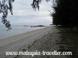 Beach at Pulau Besar