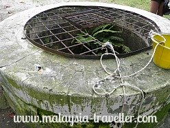 Well on Pulau Besar