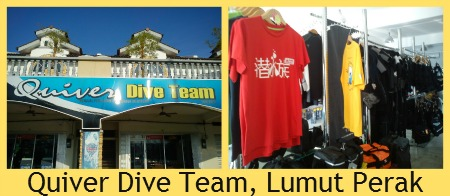 Quiver Dive Team, Lumut (photos by Louis)