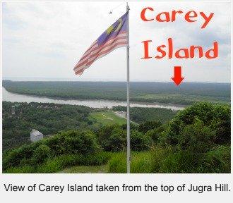 View of Carey Island