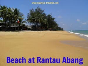 Basic accommodation at Rantau Abang