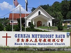 Raub Heritage Trail - Chinese Methodist Church