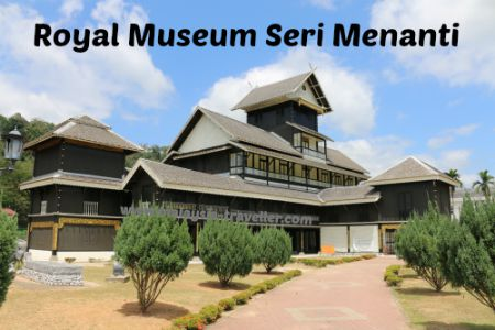 exterior of Royal Museum Seri Menanti