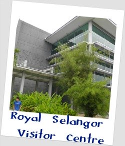 Exterior of Royal Selangor Visitor Centre