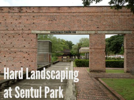 Hard Landscaping at Sentul Park