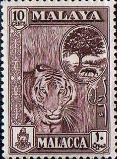 Famous Malaya Stamp Design