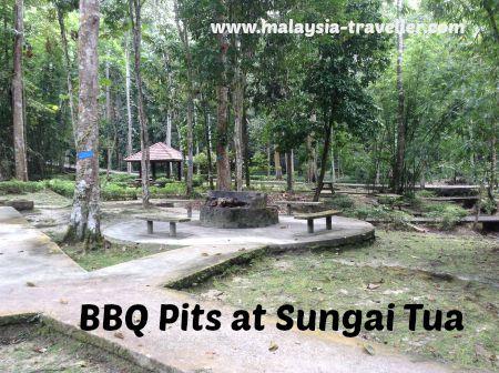 BBQ Pits at Sungai Tua
