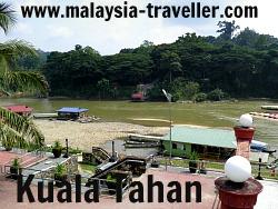Kuala Tahan entry to Taman Negara