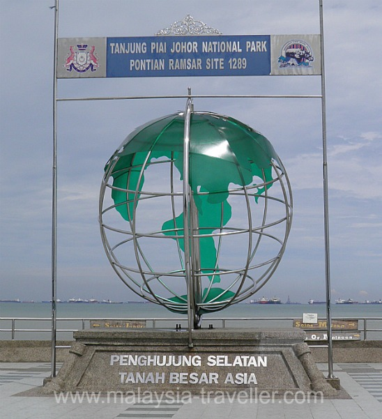 The Southern Most Point in Mainland Asia
