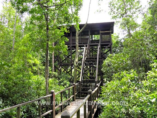 Observation Tower at Tanjung Piai