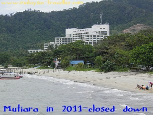 The abandoned Mutiara Beach Resort in December 2011.