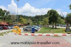 Car Park at Teluk Batik Beach
