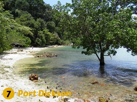 Port Dickson, Cape Rachado