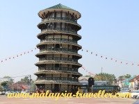 Top Perak Attractions Leaning Tower of Teluk Intan