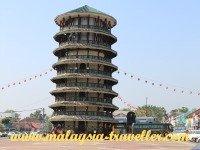 Top Perak Attractions Leaning Tower of Teluk Intan