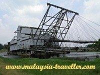 Top Perak Attractions Tin Dredge