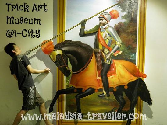 Trick Art Museum trompe l'oeil