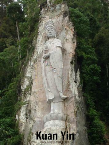 Kuan Yin statue in Langkawi