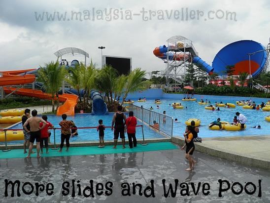 More Slides and Wave Pool at Waterworld@i-City