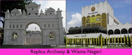 Replica Archway & Wisma Negeri