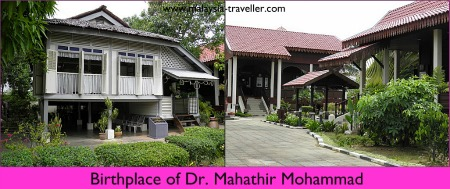 Birthplace of Dr. Mahathir Mohammad