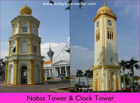 Clock Tower & Nobat Tower, Alor Setar