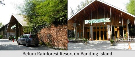 Belum Rainforest Resort, Banding Island