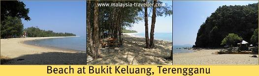 Beach at Bukit Keluang