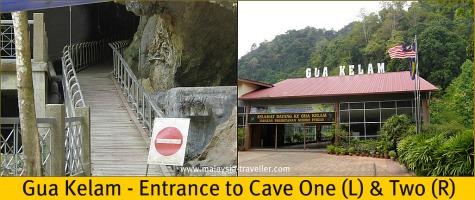 Entrance to Gua Kelam