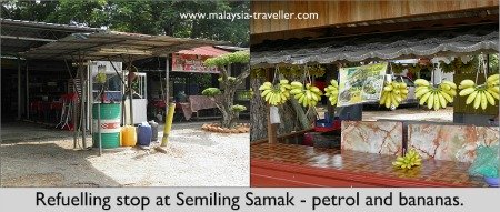 Load up with petrol and bananas for Gunung Jerai