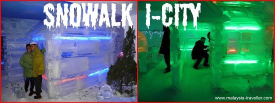 Snowalk, i-City, Shah Alam, Malaysia