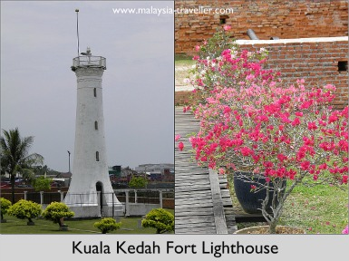 Lighthouse at Kuala Kedah Fort