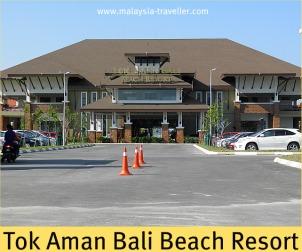 Tok Aman Bali Beach Resort at Pantai Bisikan Bayu