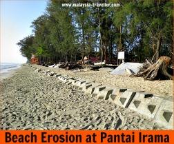 Pantai Irama - Beach Erosion