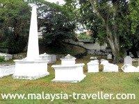 Dutch Graveyard Melaka