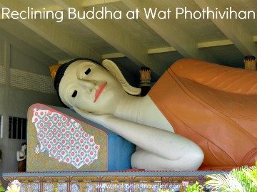 Reclining Buddha at Wat Phothivihan