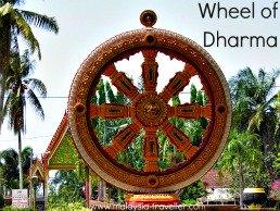 Wheel of Dharma - Wat Phothivihan